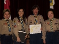 2012 09 19 Certificate of Commendation for Service to Scouting